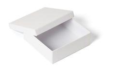 开放配件箱空的礼品 库存照片