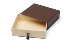 开放配件箱空的礼品 图库摄影