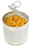 开放银行的玉米 免版税库存图片