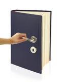 开放门的知识 免版税库存照片