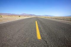 开放高速公路的横向 免版税库存照片