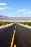 开放高速公路的横向 免版税库存图片