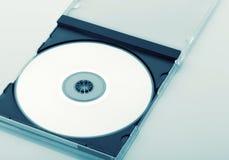 开放CD的盒 库存照片
