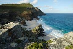 开普敦半岛全景,南非 免版税库存图片