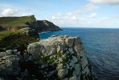开普敦半岛全景,南非 免版税库存照片