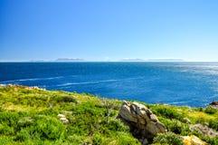 开普敦半岛-西开普省省,南非 库存照片