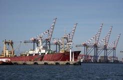 开普敦南非港  免版税库存照片