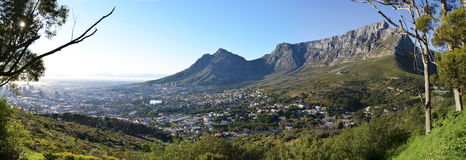 开普敦南非看法  免版税库存图片
