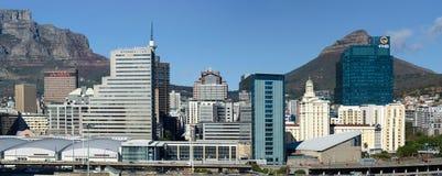 开普敦城市在南非 免版税图库摄影
