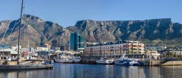开普敦城市在南非 库存图片