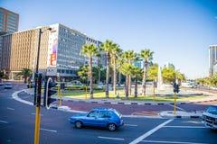 开普敦市中心-南非 免版税图库摄影