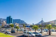 开普敦市中心-南非 库存照片