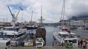 开普敦市港口 库存照片