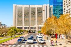 开普敦市Dowtown商业区南非 免版税库存照片
