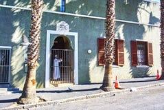开普敦最旧的清真寺在BoKaap 免版税库存照片