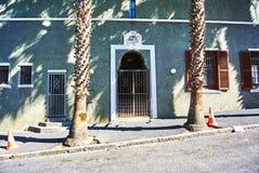 开普敦最旧的清真寺在BoKaap 免版税图库摄影
