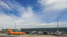 开普敦机场 免版税图库摄影