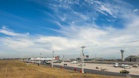 开普敦机场 图库摄影