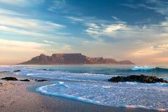 开普敦桌山南非 免版税库存照片