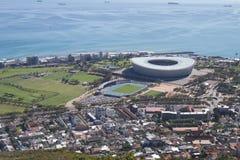 开普敦橄榄球场,南非 库存图片
