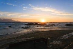 开普敦海滩 免版税库存图片