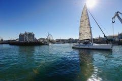 开普敦港口,南非 库存图片