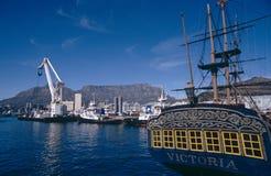 开普敦港口,南非 库存照片