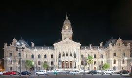 开普敦香港大会堂,南非 免版税库存照片