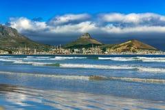开普敦,南非地平线 库存图片