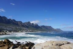 开普敦,南非海岸的美好的风景  库存图片