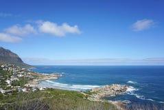 开普敦,南非海岸的美好的风景  库存照片