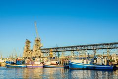 开普敦,南非港口  库存图片