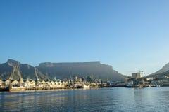 开普敦,南非港口  免版税库存图片