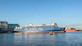 开普敦,南非港口  图库摄影