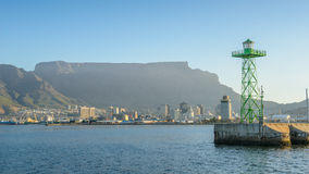 开普敦,南非港口  库存照片