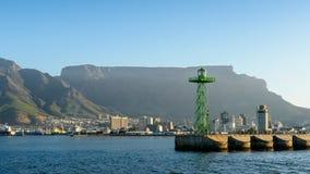 开普敦,南非港口  免版税库存照片
