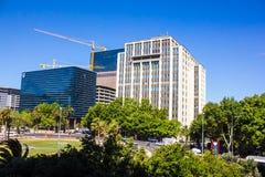 开普敦,南非街市  免版税库存图片