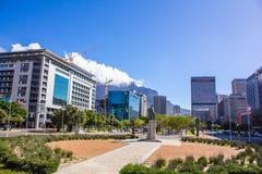 开普敦,南非街市  免版税库存照片