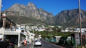 开普敦,南非都市风景  库存照片