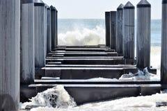 开普梅海滩 库存照片