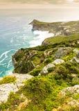 开普角峰顶在南非 免版税图库摄影