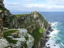 开普角的风景-岩石和海洋海角的好Ho 图库摄影