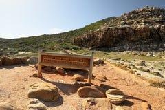 开普角,好望角,南非 库存照片