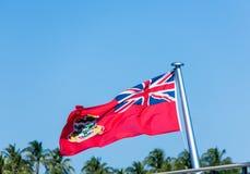 开曼群岛旗子 库存图片