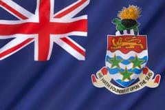 开曼群岛旗帜-避税地 免版税库存图片