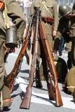 开枪人统一战争 库存照片