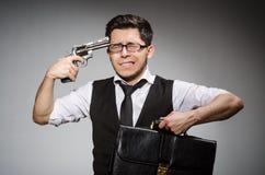 开枪人 图库摄影