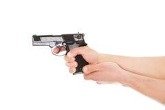 开枪人 免版税库存照片