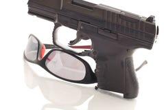 开枪安全性 库存图片
