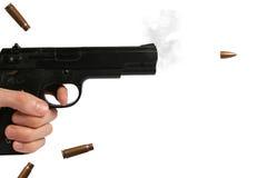 开枪射击 免版税图库摄影